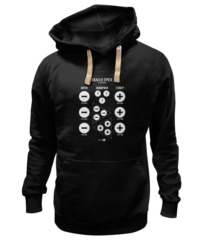 Толстовка Wearcraft Premium унисекс Printio сказ о трёх ( а. литягин) толстовка wearcraft premium унисекс printio о вопросах и ответах