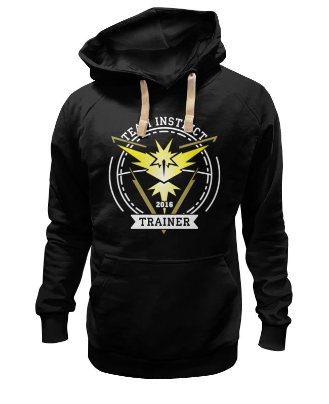 Толстовка Wearcraft Premium унисекс Printio Покемоны. team instinct футболка классическая printio покемоны team instinct