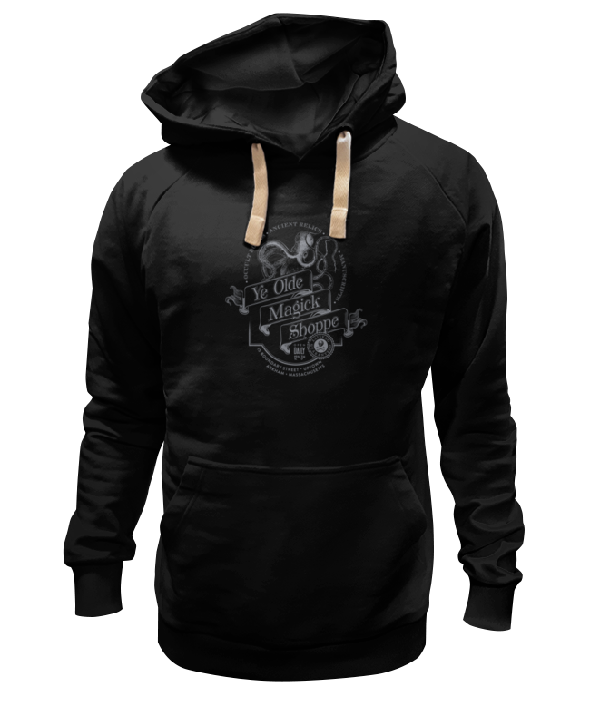 Толстовка Wearcraft Premium унисекс Printio Ye olde magick shoppe в мистически-черном клещи для обжима и зачистки sata 6 5 91108