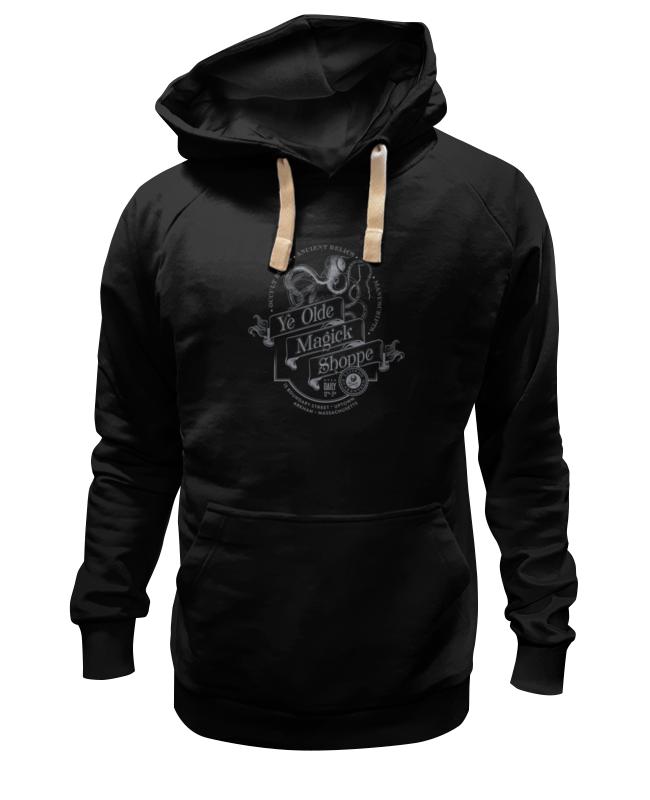 Толстовка Wearcraft Premium унисекс Printio Ye olde magick shoppe в мистически-черном