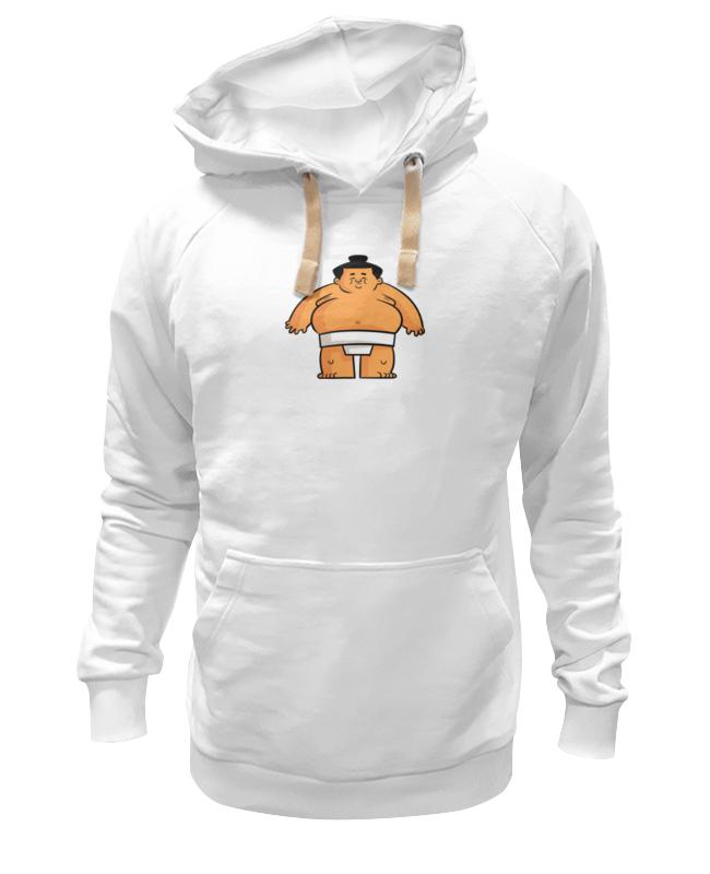 Толстовка Wearcraft Premium унисекс Printio Борец сумо футболка wearcraft premium slim fit printio борец сумо