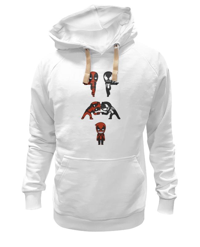 Толстовка Wearcraft Premium унисекс Printio Дэдпул и веном сумка printio дэдпул и веном