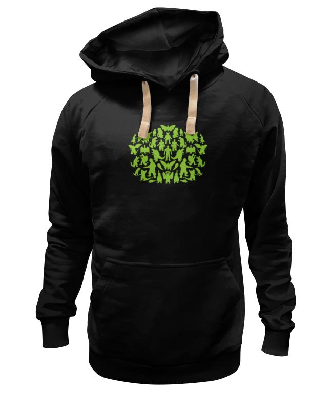 Толстовка Wearcraft Premium унисекс Printio Шелдон купер - зеленые монстры детская футболка классическая унисекс printio шелдон купер зеленые монстры