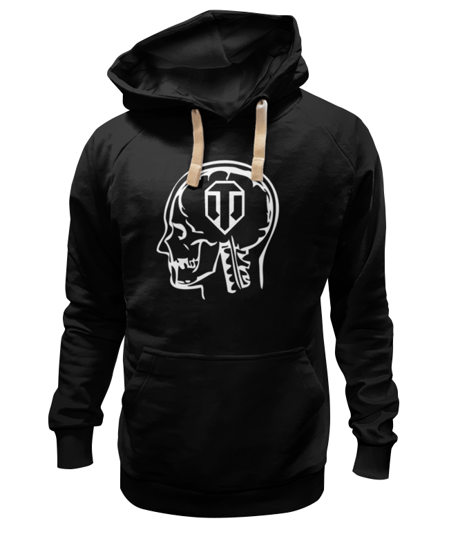 Толстовка Wearcraft Premium унисекс Printio Skull wot