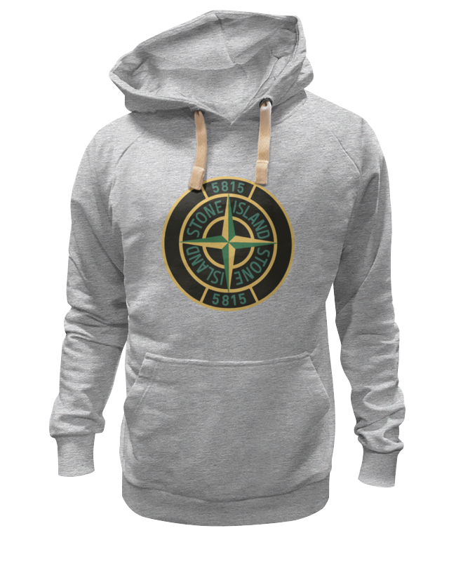 Толстовка Wearcraft Premium унисекс Printio Stone island футболка wearcraft premium slim fit printio stone island