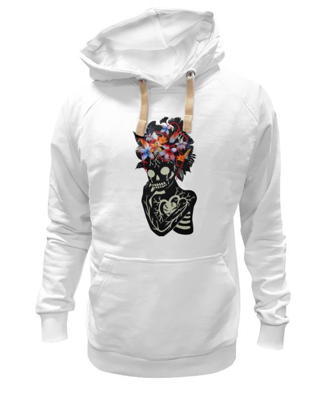Толстовка Wearcraft Premium унисекс Printio Skull art толстовка wearcraft premium унисекс printio willie skull gray