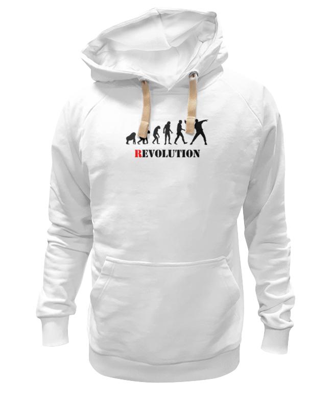 Толстовка Wearcraft Premium унисекс Printio Evolution - revolution revolution or evolution