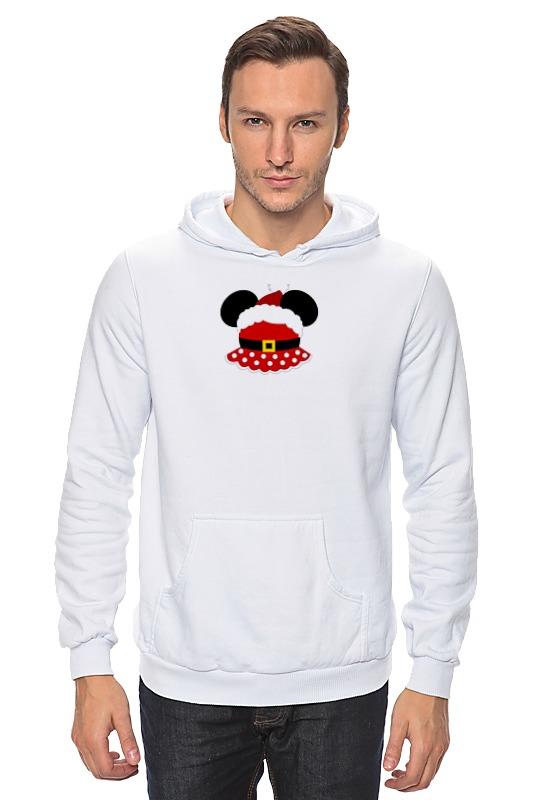 Толстовка Wearcraft Premium унисекс Printio Santa minnie (санта минни) футболка классическая printio santa minnie  санта минни