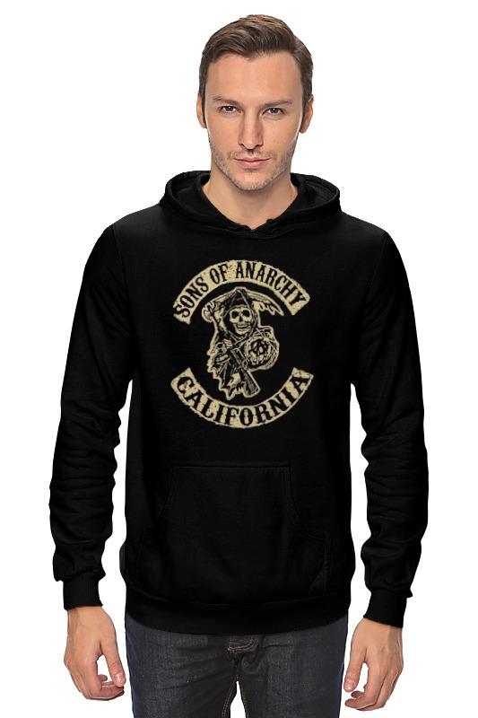 Толстовка Wearcraft Premium унисекс Printio Сыны анархии футболка wearcraft premium printio сыны анархии