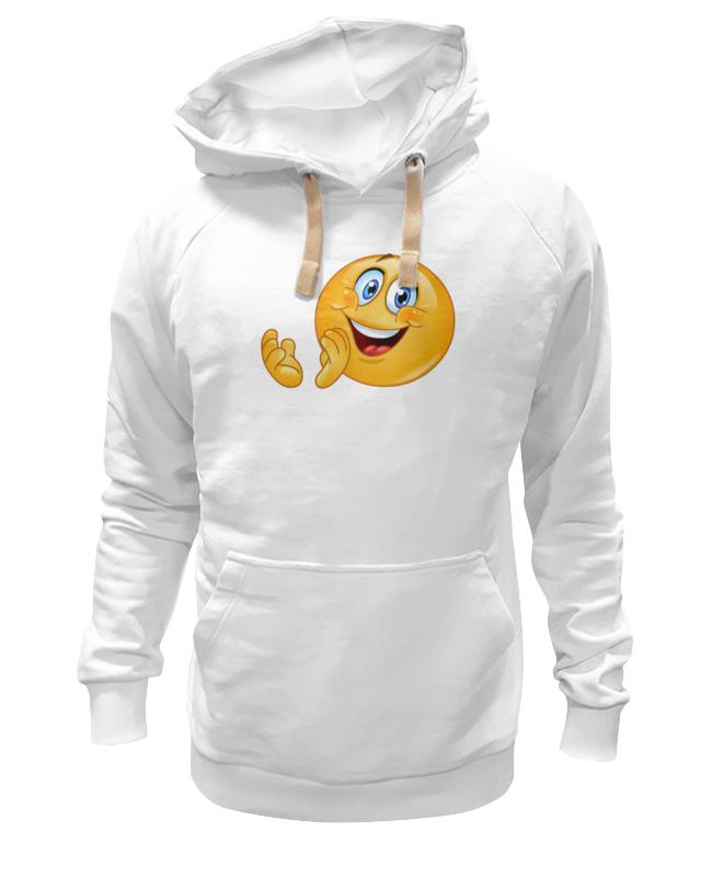 все цены на Толстовка Wearcraft Premium унисекс Printio Колобок улыбающийся. смех радость. smile онлайн
