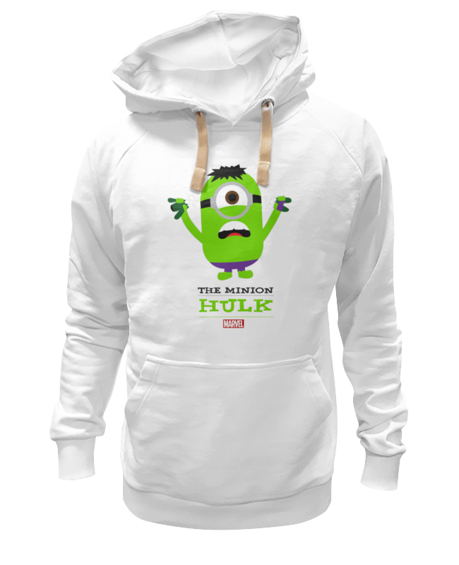 Толстовка Wearcraft Premium унисекс Printio The minion hulk футболка стрэйч printio the minion hulk