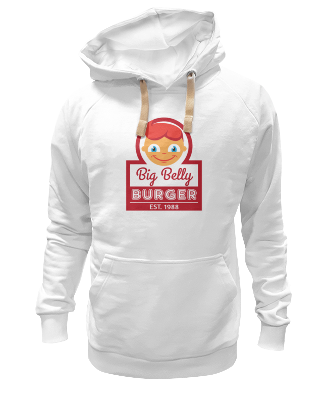 Толстовка Wearcraft Premium унисекс Printio Big belly burger сумка printio big belly burger