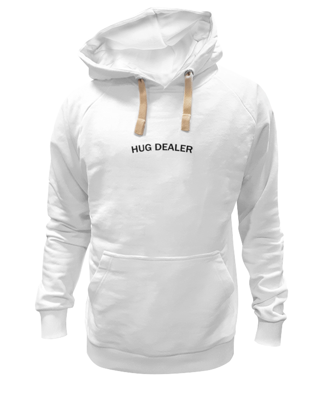Толстовка Wearcraft Premium унисекс Printio Hug dealer футболка wearcraft premium printio hug dealer обнимашки