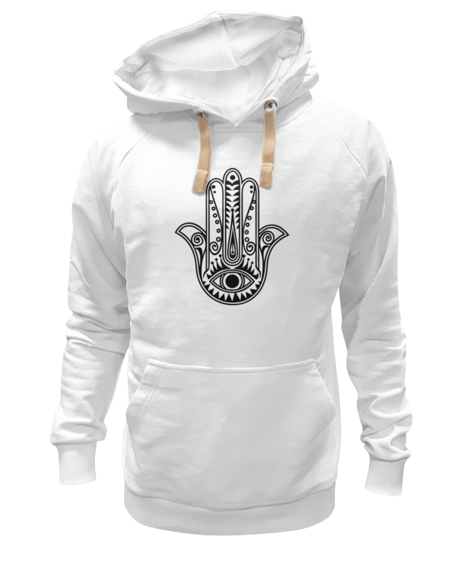 Толстовка Wearcraft Premium унисекс Printio Hamsa lotus eye футболка wearcraft premium printio хамса hamsa