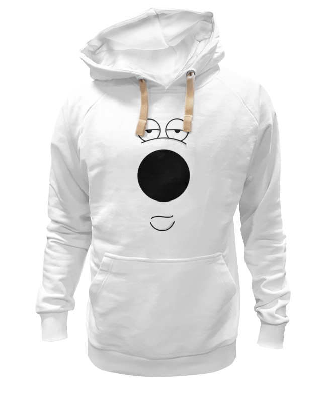 Толстовка Wearcraft Premium унисекс Printio Brian griffin (family guy) майка классическая printio brian griffin family guy