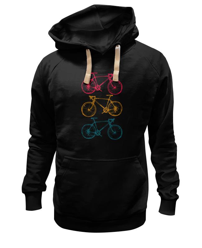 Толстовка Wearcraft Premium унисекс Printio Велосипеды велосипеды