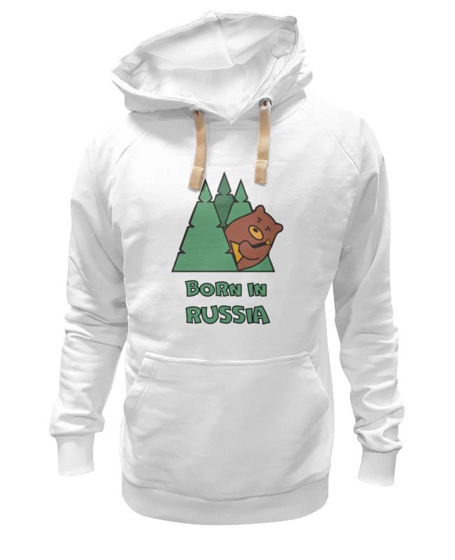 Толстовка Wearcraft Premium унисекс Printio Born in russia (рожден в россии) толстовка wearcraft premium унисекс printio born to be child