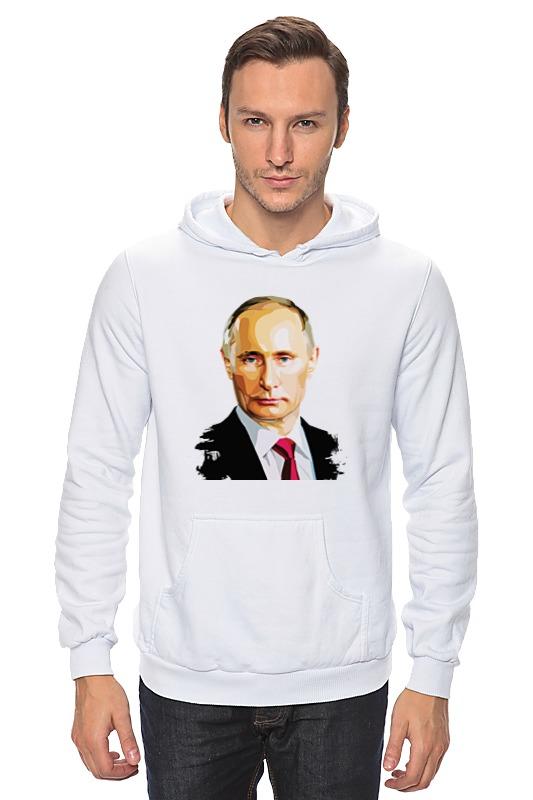 Толстовка Wearcraft Premium унисекс Printio Владимир путин happiness толстовка