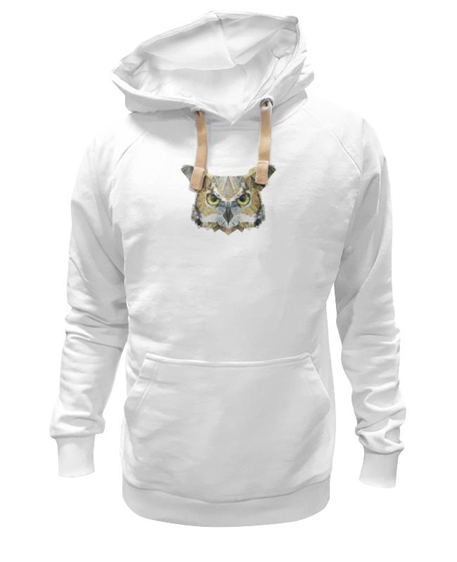Толстовка Wearcraft Premium унисекс Printio Абстрактная сова толстовка wearcraft premium унисекс printio часы сова