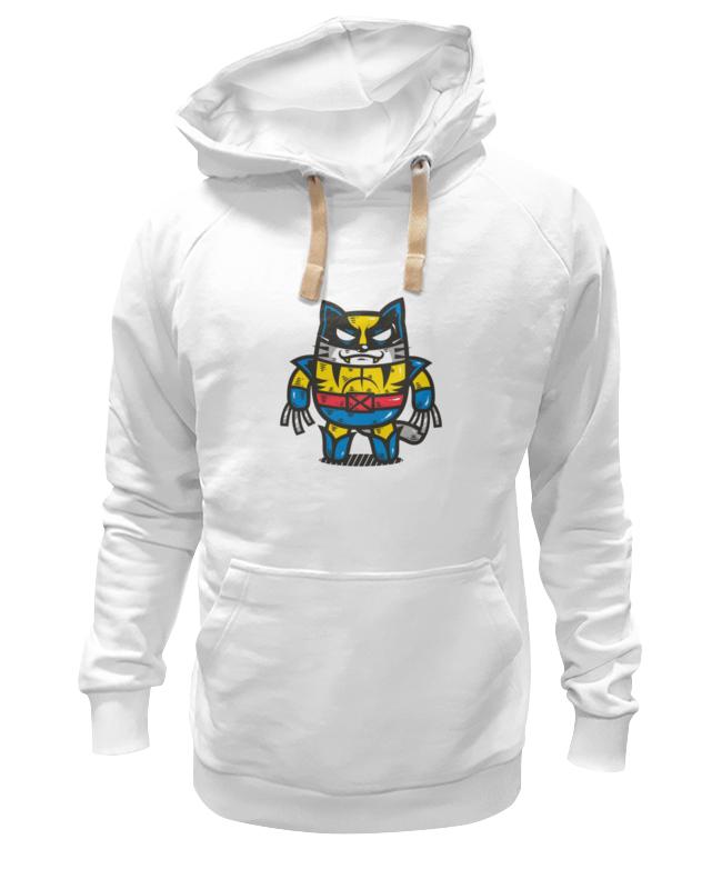 Толстовка Wearcraft Premium унисекс Printio Росомаха-кот толстовка wearcraft premium унисекс printio the wolverine росомаха