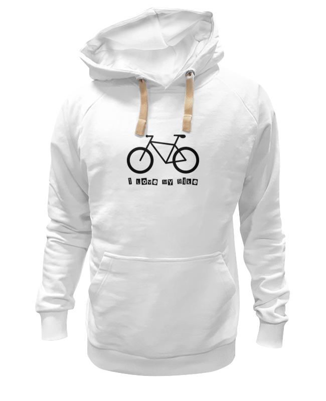 Толстовка Wearcraft Premium унисекс Printio I love my bike велосипед geuther велосипед my runner серо зеленый