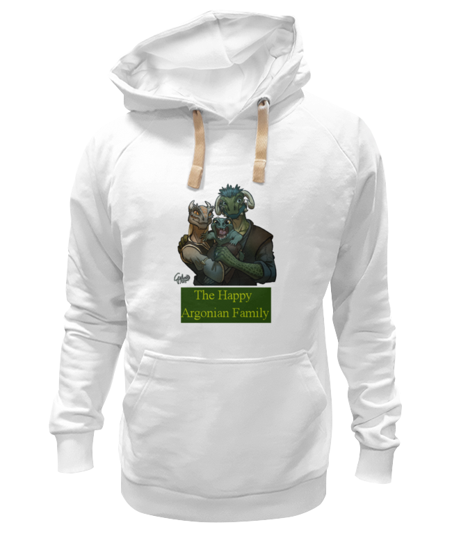 Толстовка Wearcraft Premium унисекс Printio The happy argonian family