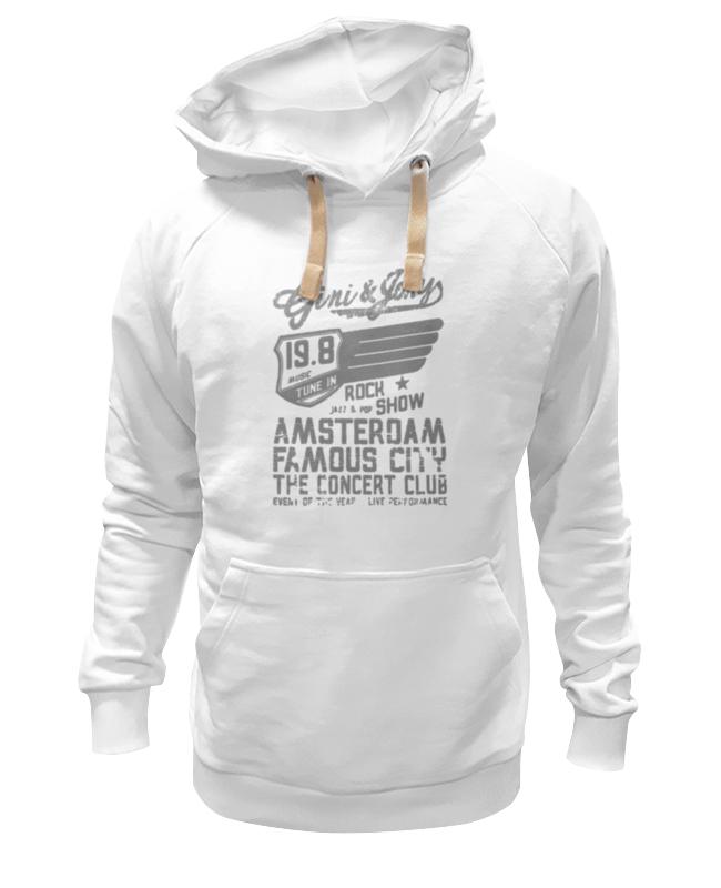 Толстовка Wearcraft Premium унисекс Printio Gini & jony boy amsterdam rock show