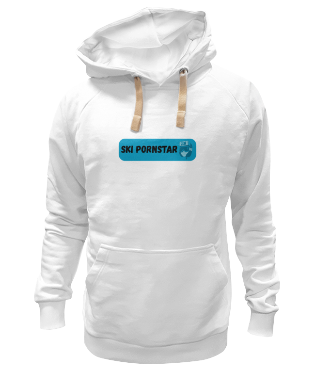 Толстовка Wearcraft Premium унисекс Printio Ski pornstar