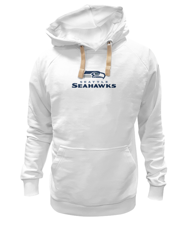Толстовка Wearcraft Premium унисекс Printio Seattle seahawks цена