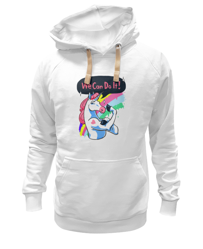 Толстовка Wearcraft Premium унисекс Printio We can do it! (unicorn) i can do it