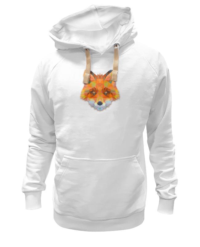 Толстовка Wearcraft Premium унисекс Printio Полигональная лиса футболка wearcraft premium printio геометрическая лиса