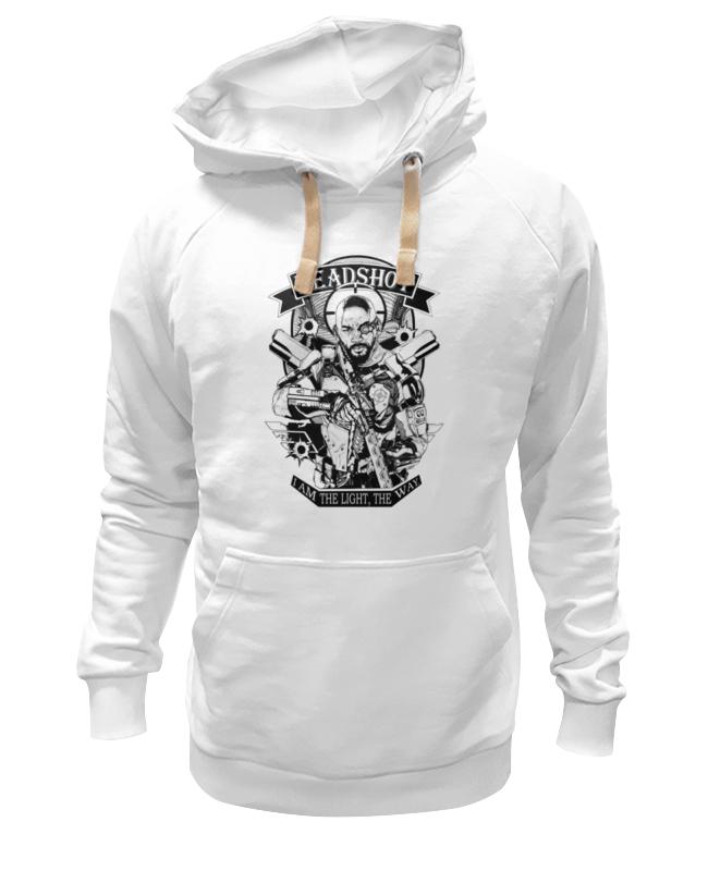 Толстовка Wearcraft Premium унисекс Printio Deadshot deadshot bulletproof