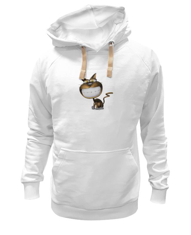 Толстовка Wearcraft Premium унисекс Printio Улыбающийся котик толстовка wearcraft premium унисекс printio милый котик