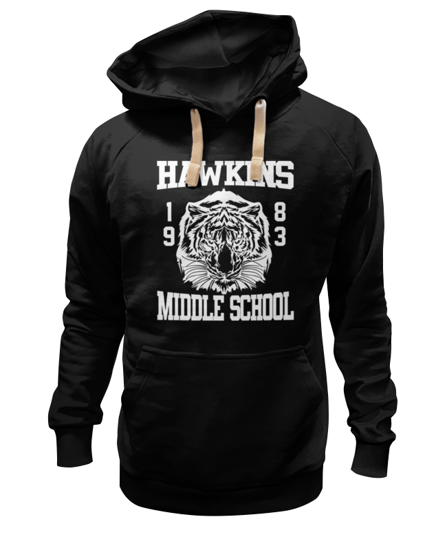 Толстовка Wearcraft Premium унисекс Printio Hawkins middle school коулмен хокинс coleman hawkins desafinado