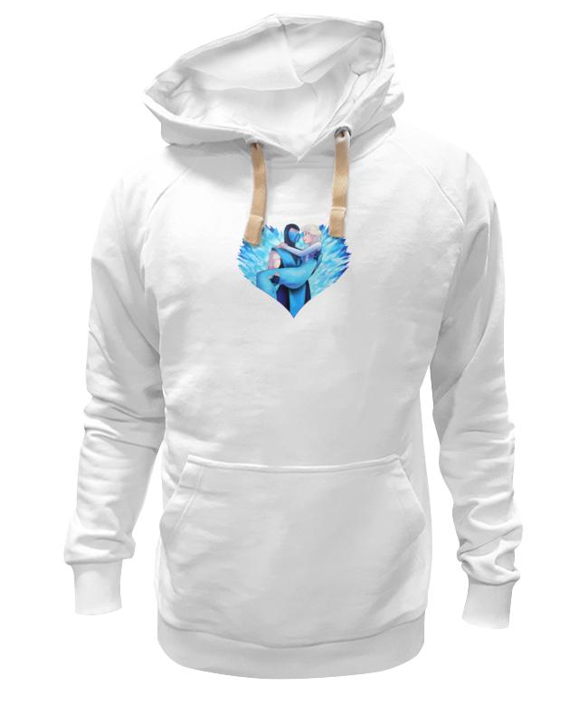 Толстовка Wearcraft Premium унисекс Printio Саб-зиро и снежная королева (мортал комбат) лонгслив printio снежная королева