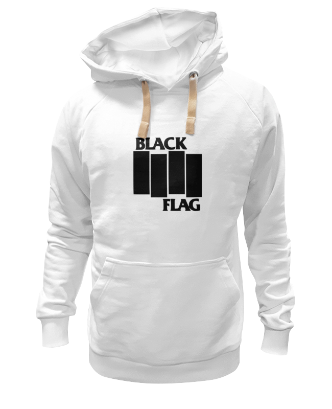 Толстовка Wearcraft Premium унисекс Printio Black flag сумка printio black flag