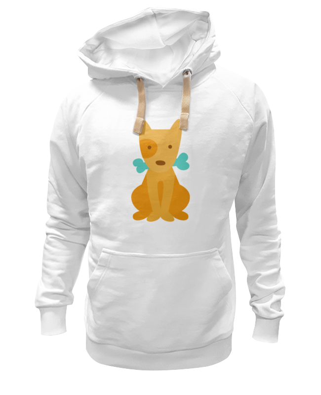 Толстовка Wearcraft Premium унисекс Printio Щенок с косточкой мягкие игрушки maxitoys щенок с косточкой 12 см