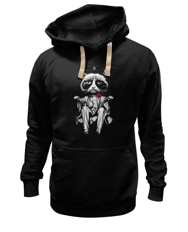 Толстовка Wearcraft Premium унисекс Printio Сердитый котик (grumpy cat) серебро россии серьги