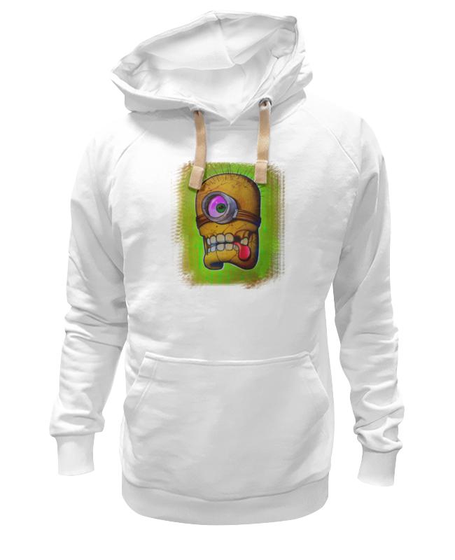 Толстовка Wearcraft Premium унисекс Printio Skull minion толстовка wearcraft premium унисекс printio mario minion