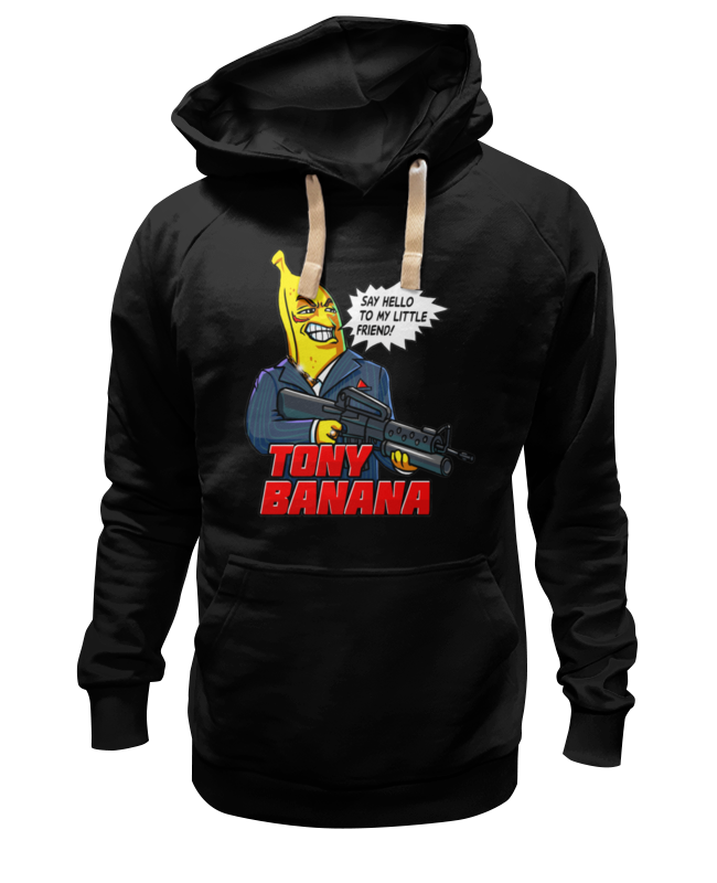 Толстовка Wearcraft Premium унисекс Printio Tony banana