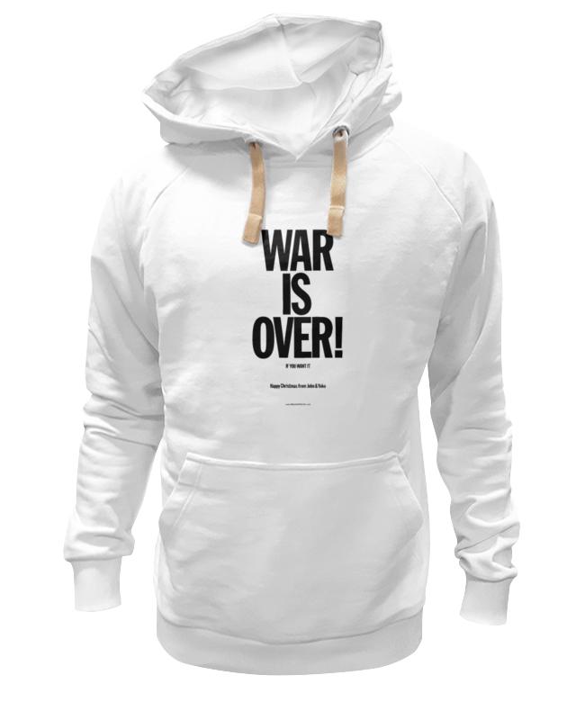 Толстовка Wearcraft Premium унисекс Printio War is over / война закончена толстовка wearcraft premium унисекс printio отечественная война