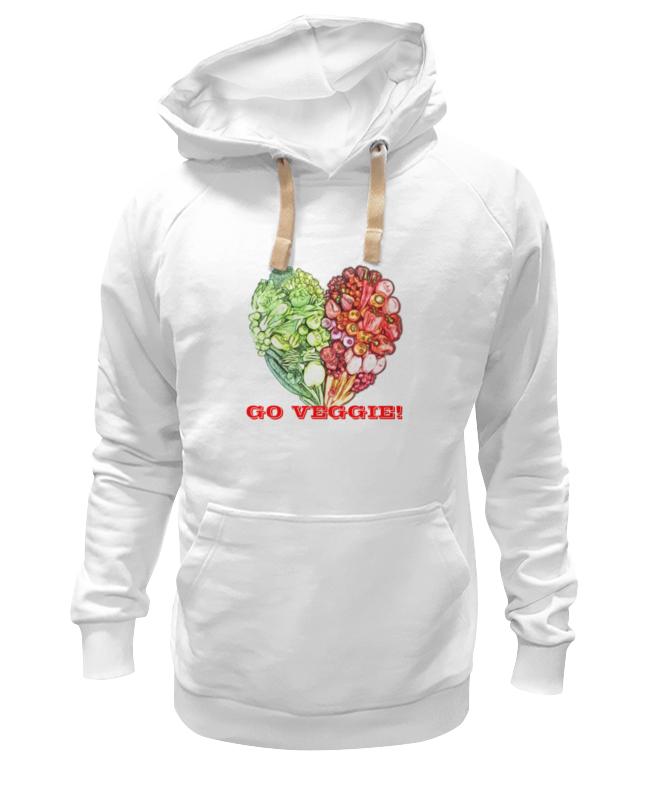 Толстовка Wearcraft Premium унисекс Printio Go veggie! овощерезка moha veggie pro цвет черный
