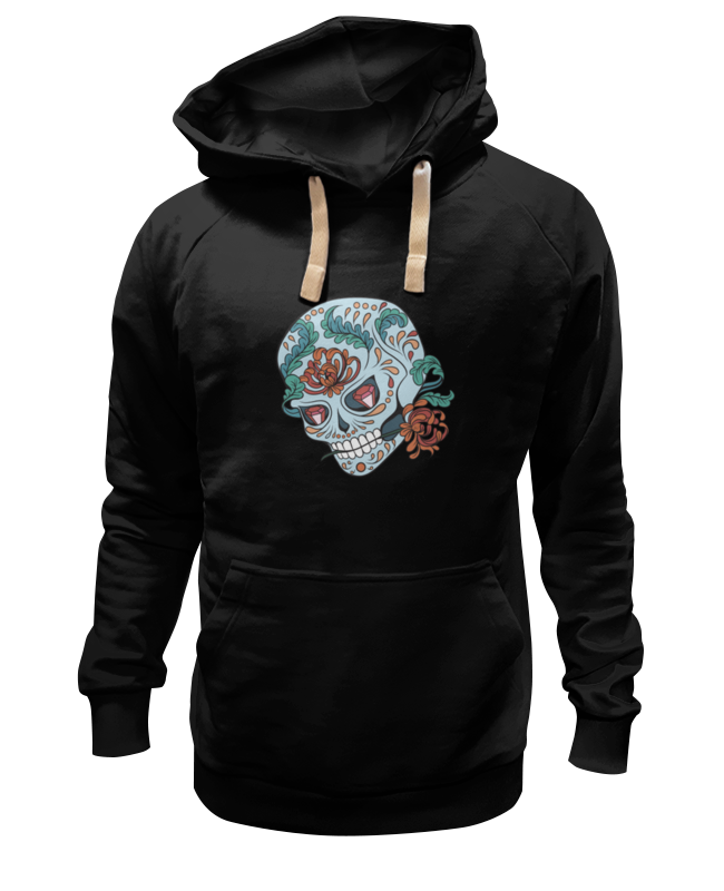 Толстовка Wearcraft Premium унисекс Printio Skull толстовка wearcraft premium унисекс printio willie skull gray