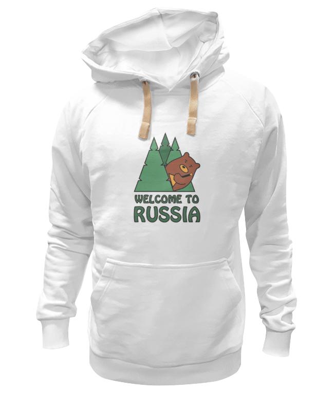Толстовка Wearcraft Premium унисекс Printio Welcome to russia футболка wearcraft premium printio welcome to russia
