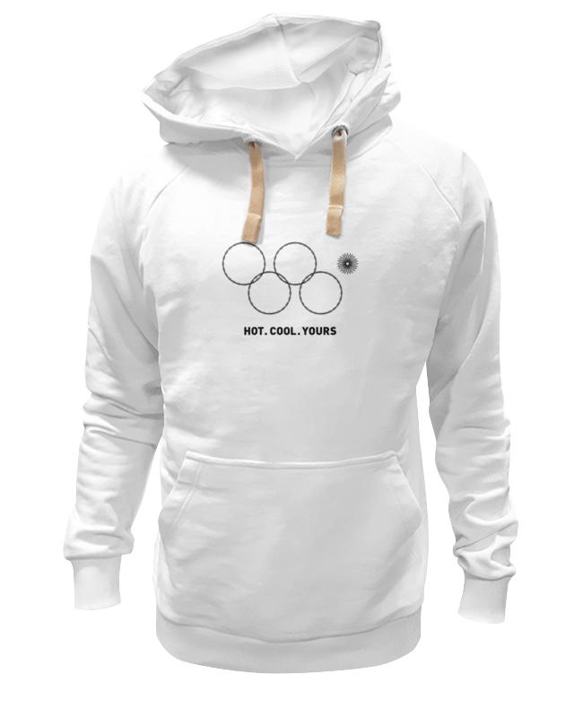 Толстовка Wearcraft Premium унисекс Printio Олимпийские кольца в сочи 2014 сумка printio олимпийские кольца в сочи 2014