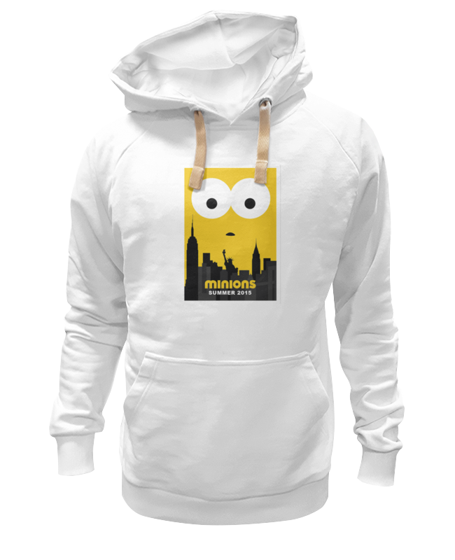 Толстовка Wearcraft Premium унисекс Printio Minions summer 2015 футболка wearcraft premium slim fit printio minions summer 2015