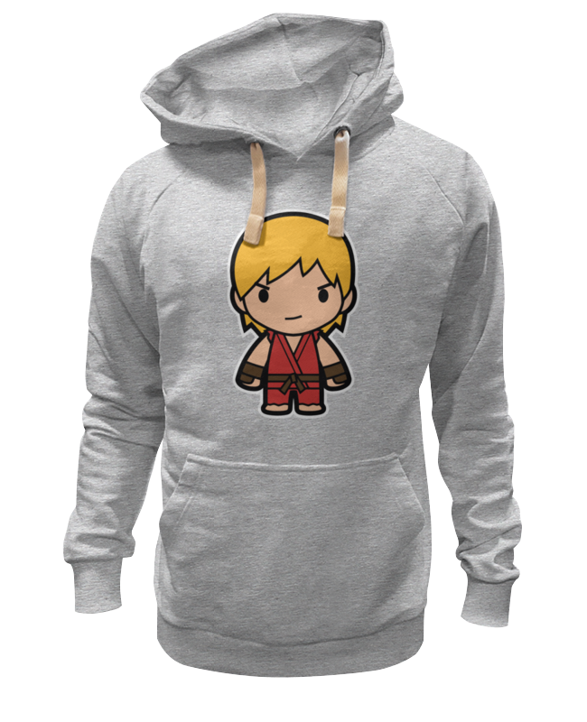 Толстовка Wearcraft Premium унисекс Printio Ken (street fighter) лонгслив printio ken street fighter