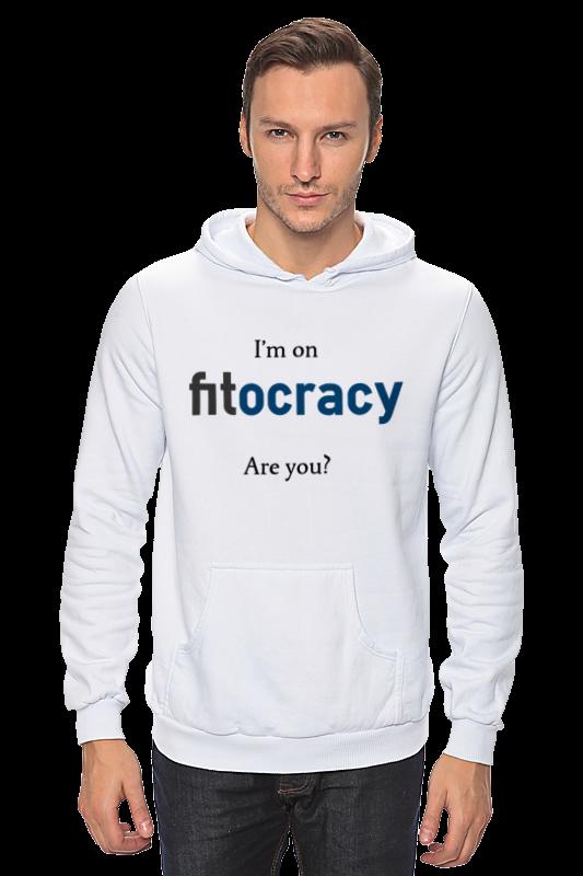 Толстовка Wearcraft Premium унисекс Printio I'm on fitocracy, are you? толстовка wearcraft premium унисекс printio you can t handle the truth