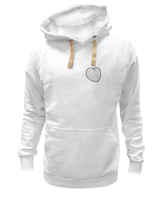 Толстовка Wearcraft Premium унисекс Printio Вырезанное сердце футболка для фотошопа