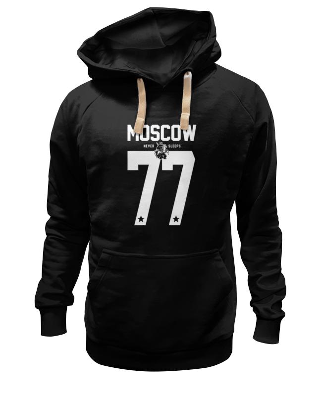 Толстовка Wearcraft Premium унисекс Printio Moscow 77 толстовка wearcraft premium унисекс printio петушок